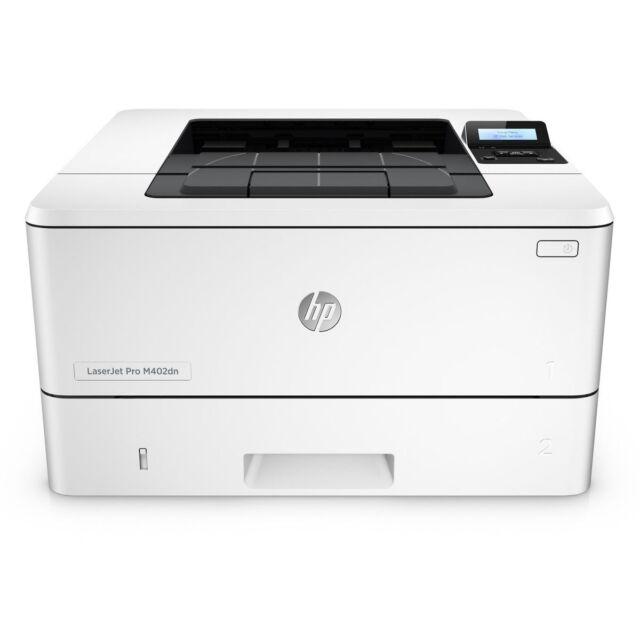 HP LaserJet Pro M402dn Network Mono Black and White Laser Printer 52ppm