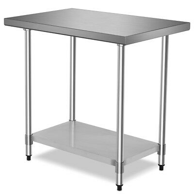 24 X 36 Stainless Steel Commercial Kitchen Work Food Prep Table