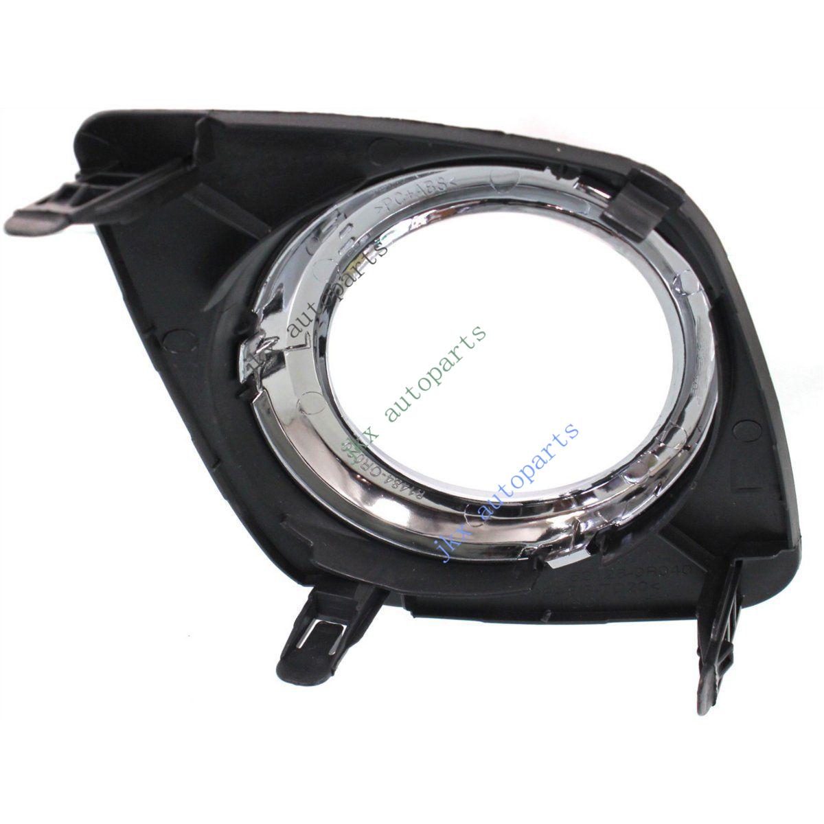 Clear Lens Fog Light Lamp Bulb Switch Wiring Bezel Kit For Toyota Rav4 2009 2012
