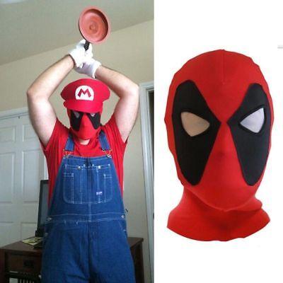 X-Men Deadpool Maske Balaclava Halloween Kostüm Cosplay Gesichtsmaske