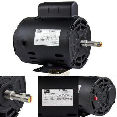 1 Hp Electric Motor Frame (1 HP Air Compressor Electric Motor 56 Frame 3485 RPM Single Phase WEG)