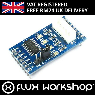 Stepper Motor Driver Module Uln2003 Cnc 3d Arduino Raspberry Flux Workshop