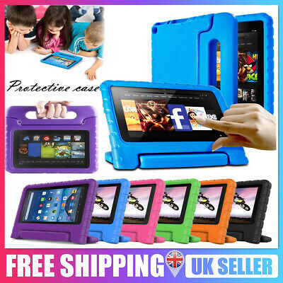 Tough Kids Shockproof Eva Foam Stand Case Cover For Kindle fire HD 8 2016 PC