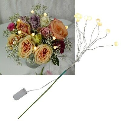 LED Lichterzweige für Sträuße & Vasen Batterie Leuchtzweige Deko-Zweige Gestecke