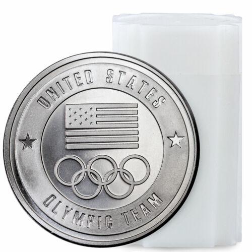 Roll of 20 United States Olympic Team 1 oz Silver Round BU SKU59120
