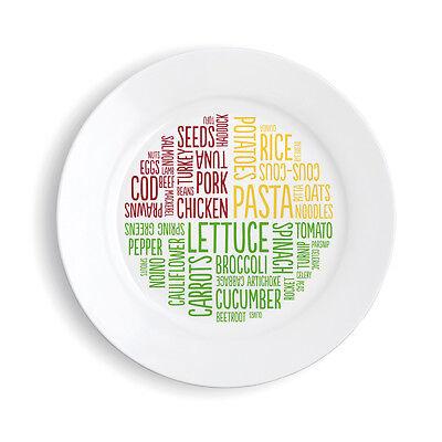 (Healthy-Eating-Slimming-Diet-World-Portion-Control-Plate-MELAMINE-Diabetes)