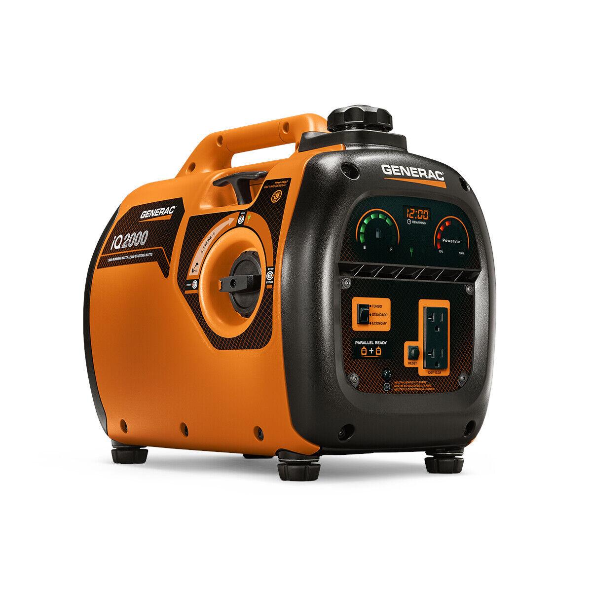 6866 iq2000 2000 watt inverter portable generator
