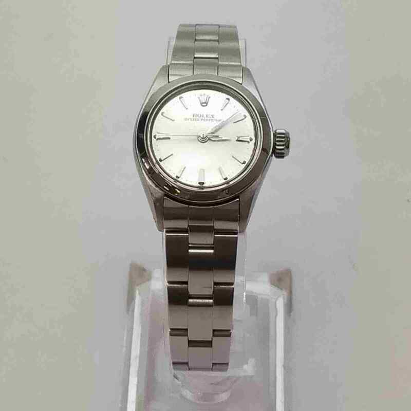 Rolex Watch Oyster perpetual 6618 24mm Automatic  Women's   Silver 837917