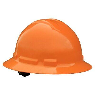 Radians Hard Hat Full Brim With 4 Point Pinlock Suspension Orange