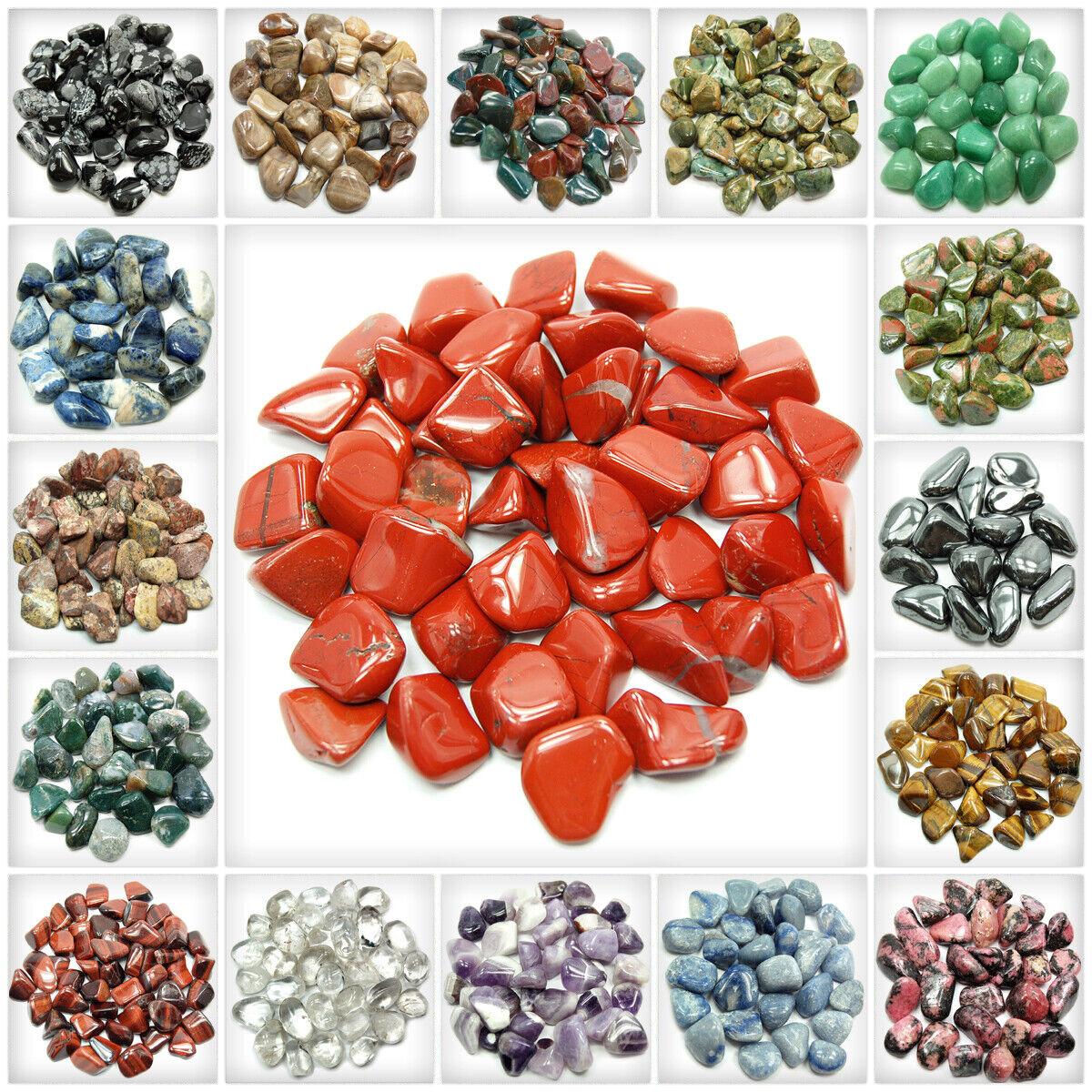 Tumbled Stones (A Grade) Bulk/Discount/Wholesale - 25pcs.