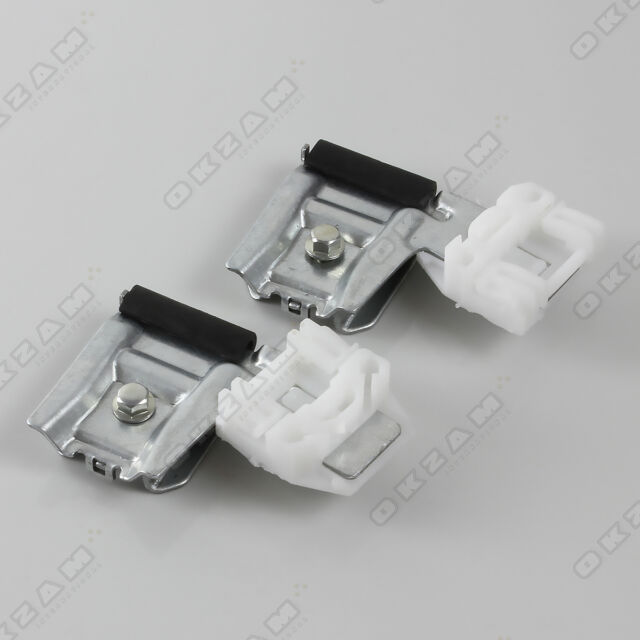 SEAT LEON 99-06 WINDOW REGULATOR REPAIR CLIPS with METAL SLIDER FRONT RIGHT OFS