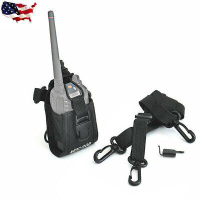 Msc-20b Multi Function Radio Case Pouch Holster For Motorola Kenwood Puxing