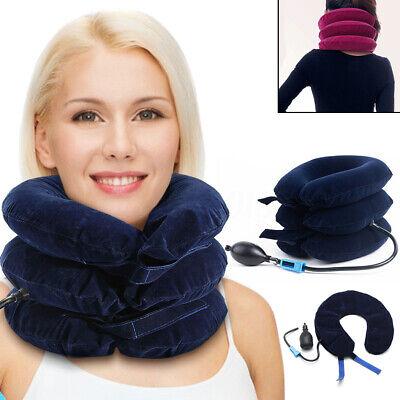 Cervical Air Inflatable U Shape Neck Relief Pain Pillow Brac