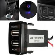 USB Audio and Charger Port for Toyota Prado 120 Hilux FJ Cruiser Auburn Auburn Area Preview