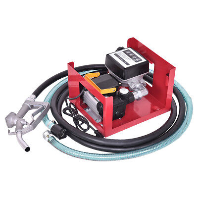 Dieselpumpe Set Heizölpumpe Kraftstoffpumpe Ölpumpe Tankstelle selbstansaugend