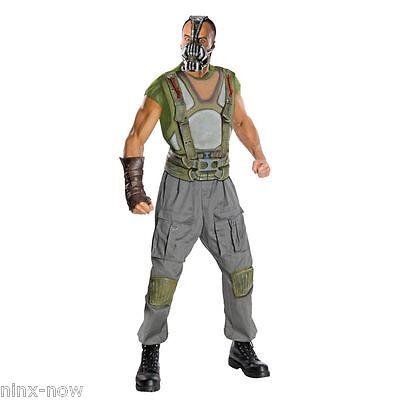 BANE Dark Knight Deluxe Men's Fancy Dress Costume Genuine Licensed with mask - Bane Costume For Men