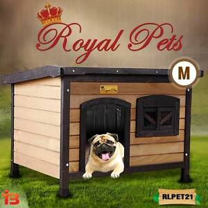 Medium Timber Kennel House for Pet Dog Fairfield Fairfield Area Preview