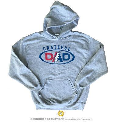 Grateful Dead Grateful Dad M, L, XL, 2XL Grey Hoodie](Grateful Dead Hoodie)