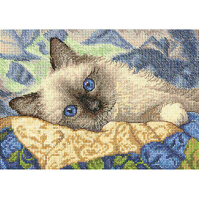 Charming Cross (Gold Petite Charming Counted Cross Stitch Kit-7