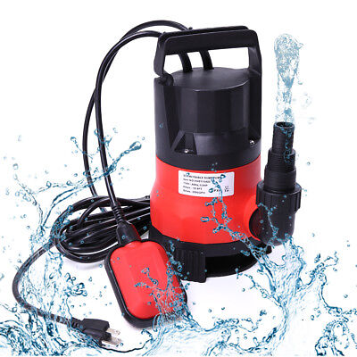 Water Pump Submersible 12 Hp 2000gph Clean Clear Dirty Pool Pond Flood Draining