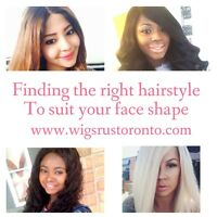 WIGS, FRONTALS, TOPPERS and Men Lace Wig