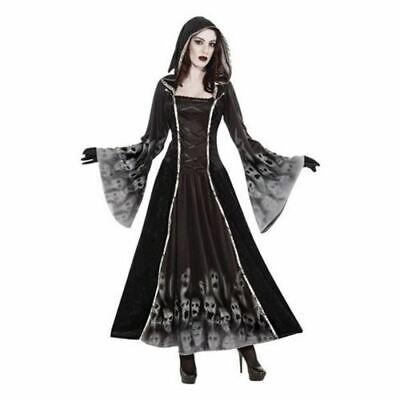 Disfraz de Halloween Disfraz para Mujer Novia Gótica Fantasma Soul Zombie