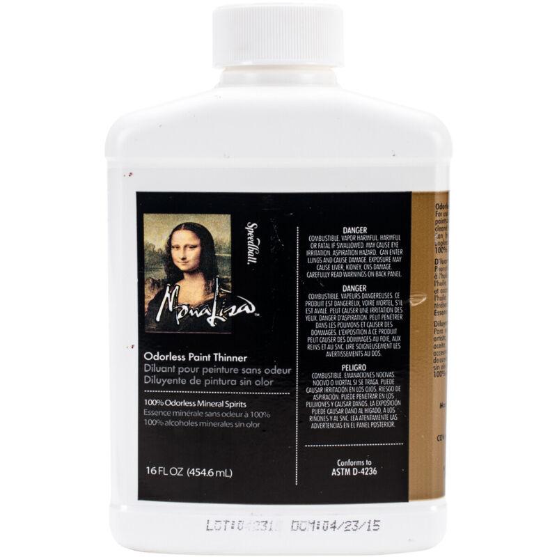 Mona Lisa Odorless Paint Thinner-16oz