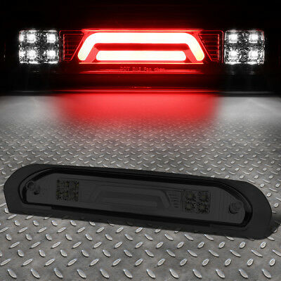 Brake Bar - [3D LED BAR]FOR 02-09 DODGE RAM SMOKED LENS 3RD THIRD BRAKE LIGHT/CARGO LAMP