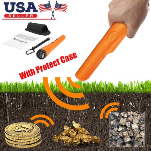 Metal Detector Pro Pinpointer Gold Digger Hunter Sensitive Tester Waterproof USA