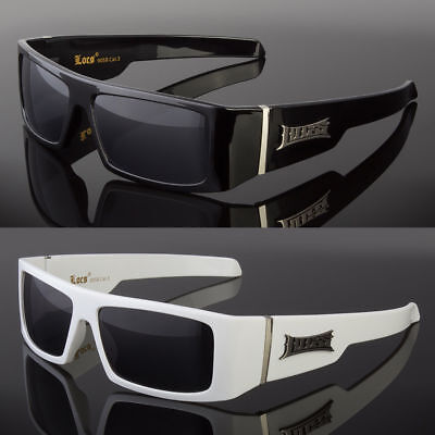 New Locs Flat Top Squared Black White Frame Ivory Arms Men's Designer (Flat Top Arms)