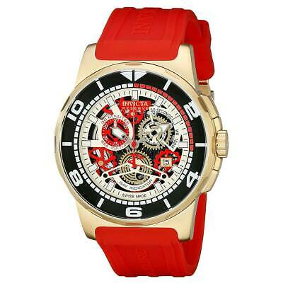 Invicta 18949 Men's Sea Vulture Chrono Skeleton Dial Swiss Watch - Vulture Skeleton