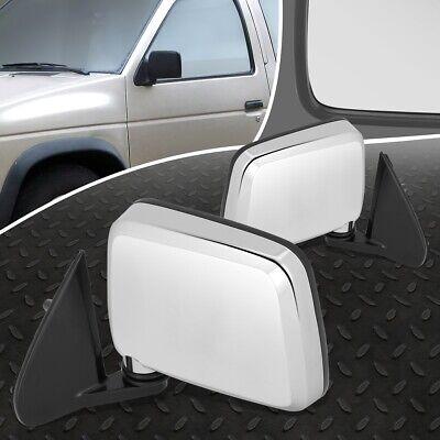 97 Nissan Pickup Door Mirror - FOR 86-97 NISSAN D21 PICKUP PAIR OE STYLE MANUAL ADJUSTMENT SIDE DOOR MIRROR SET