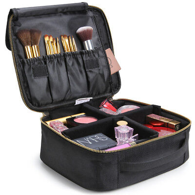 Lifewit Makeup Brush Bag Travel Cosmetic Organizer Storage Case with Dividers
