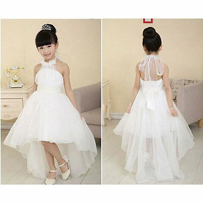 Flower Girl Princess Tutu Fancy Dress Toddler Baby Wedding Party Pageant Dresses - Fancy Flower Girl Dresses