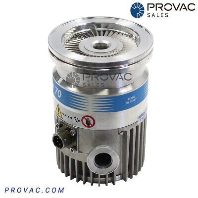 Varian Tv-70d Turbo Pump Iso63 Inlet Rebuilt By Provac Sales Inc.