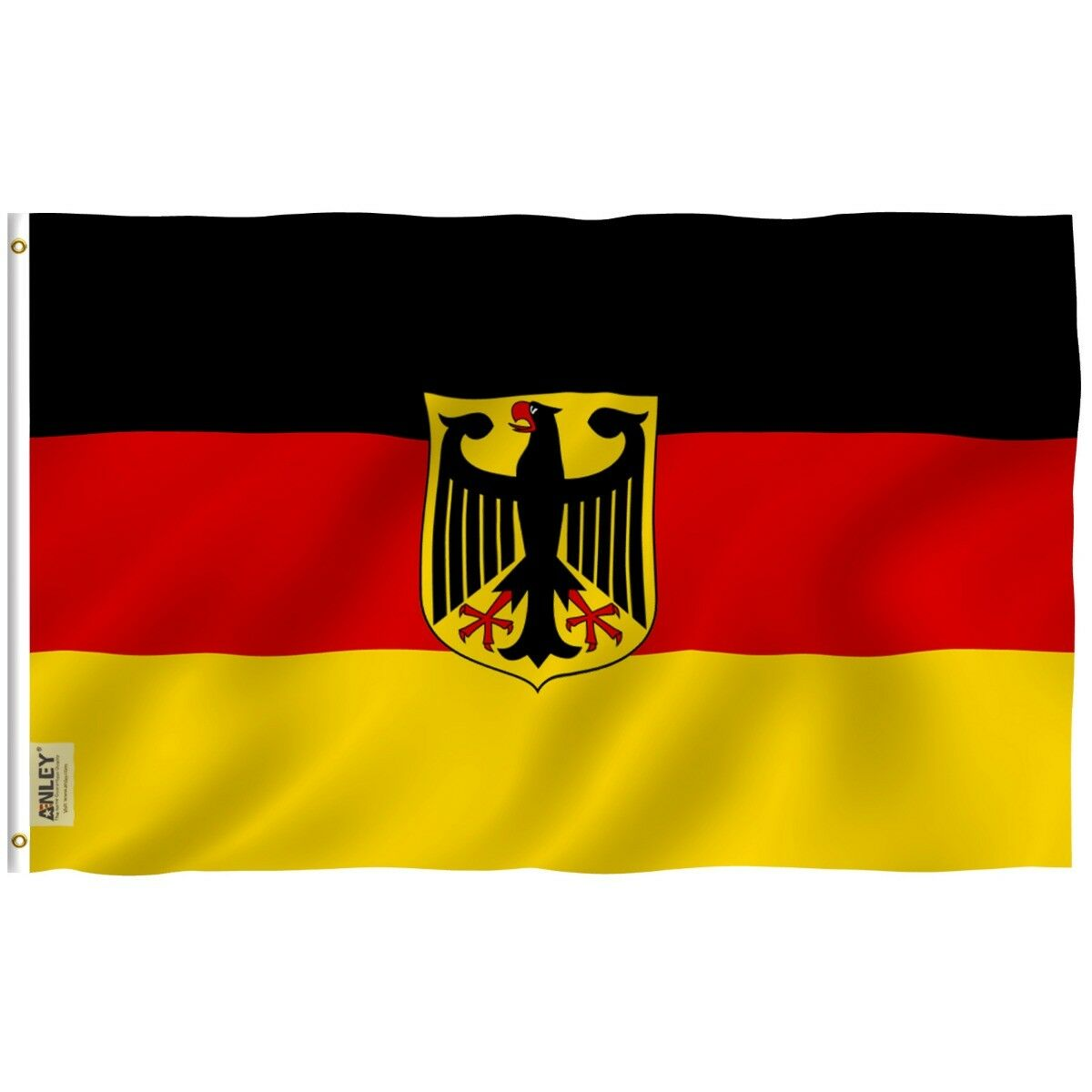 ANLEY German State Eagle Flag Old Germany Banner Polyester 3