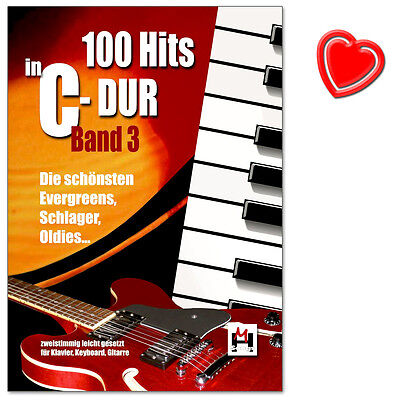 100 Hits in C-Dur - Band 3 mit Musik-Bleistift - BOE7772 - 9783865438751