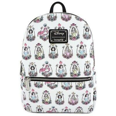 Loungefly Disney Princess Belle Cinderella Jasmine Snow Mini Backpack WDBK0745