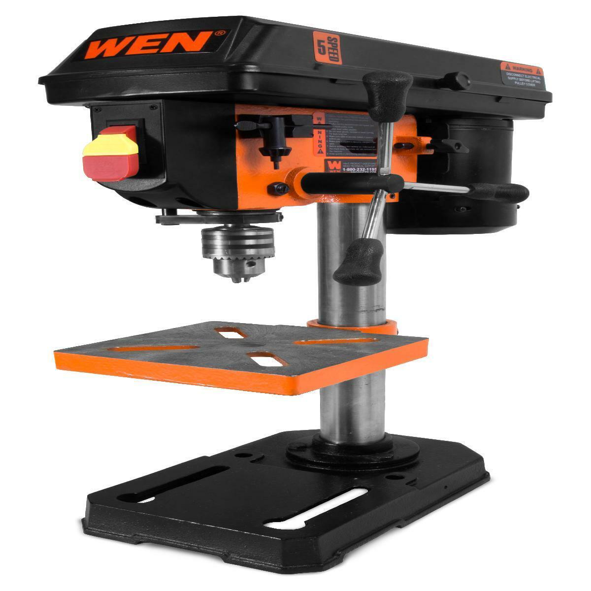 WEN 8-Inch 5-Speed Drill Press, 4208
