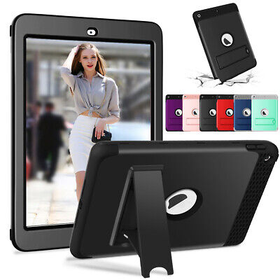 For Apple iPad Best Protection Heavy Duty Shockproof Armor Defender Hard (Best Protector For Ipads)