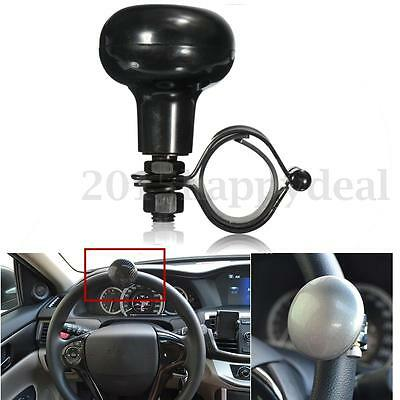 Car Lorry Truck Steering Wheel Spinner Knob Handle Rubber Mat Helper For VW FORD