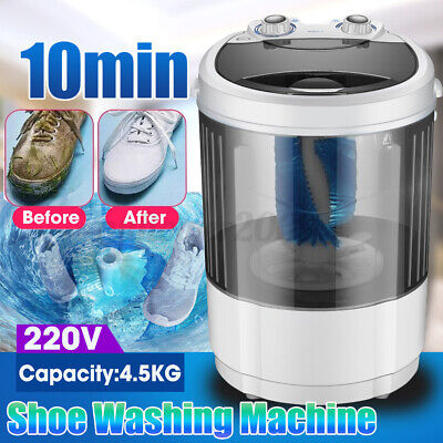 Portable 4.5Kg Mini Lazy Compact Washing Shoes Brush Machine Baby Home Dorm 260W, used for sale  Shipping to Nigeria