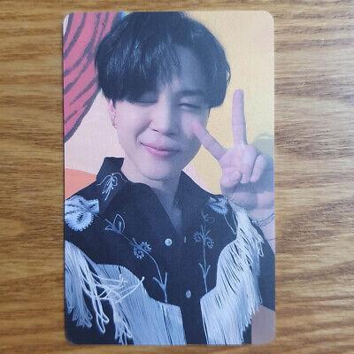 Jimin Official Photocard BTS Butter Lucky Draw Soundwave Genuine Kpop