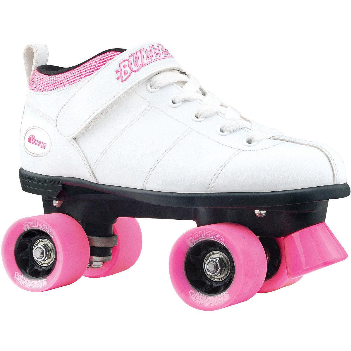 Quad roller skates amazon - Chicago Bullet Speed Skates