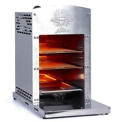 BRAST Hochleistungsgrill 800°C Gasgrill Oberhitze Grill Infrarot Edelstahl Steak