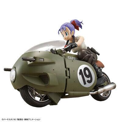 Dragon Ball Bulma (Bulma's Variable No.19 Bike Dragon Ball Z Bandai Figure Rise Model)