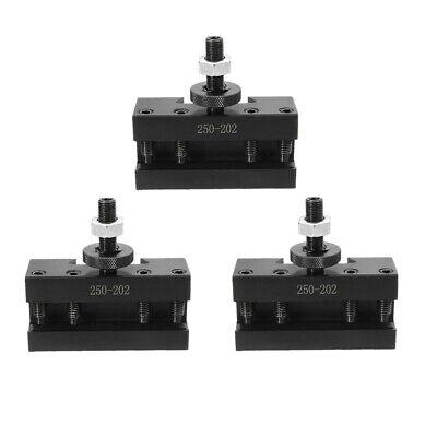 3pcs 10-15 Bxa 1 Quick Change Turning Facing Boring Tool Post Holder 250-202