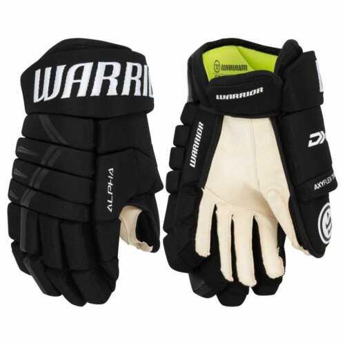 "New Warrior Alpha Black DX4 DX Sr. Ice hockey gloves 14"" 15"""