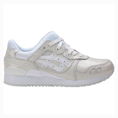 ASICS WOMEN'S GEL LYTE III FASHION SNEAKERS WHITE/WHITE SIZE 5.5-9 AUTHENTIC NEW
