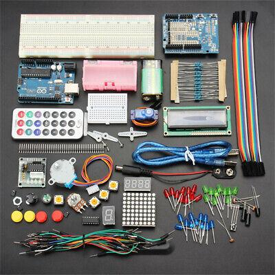 102pcs Ultimate Arduino Starter Learn Kit For Uno R3 1602 Servo Motor Lcd Sensor
